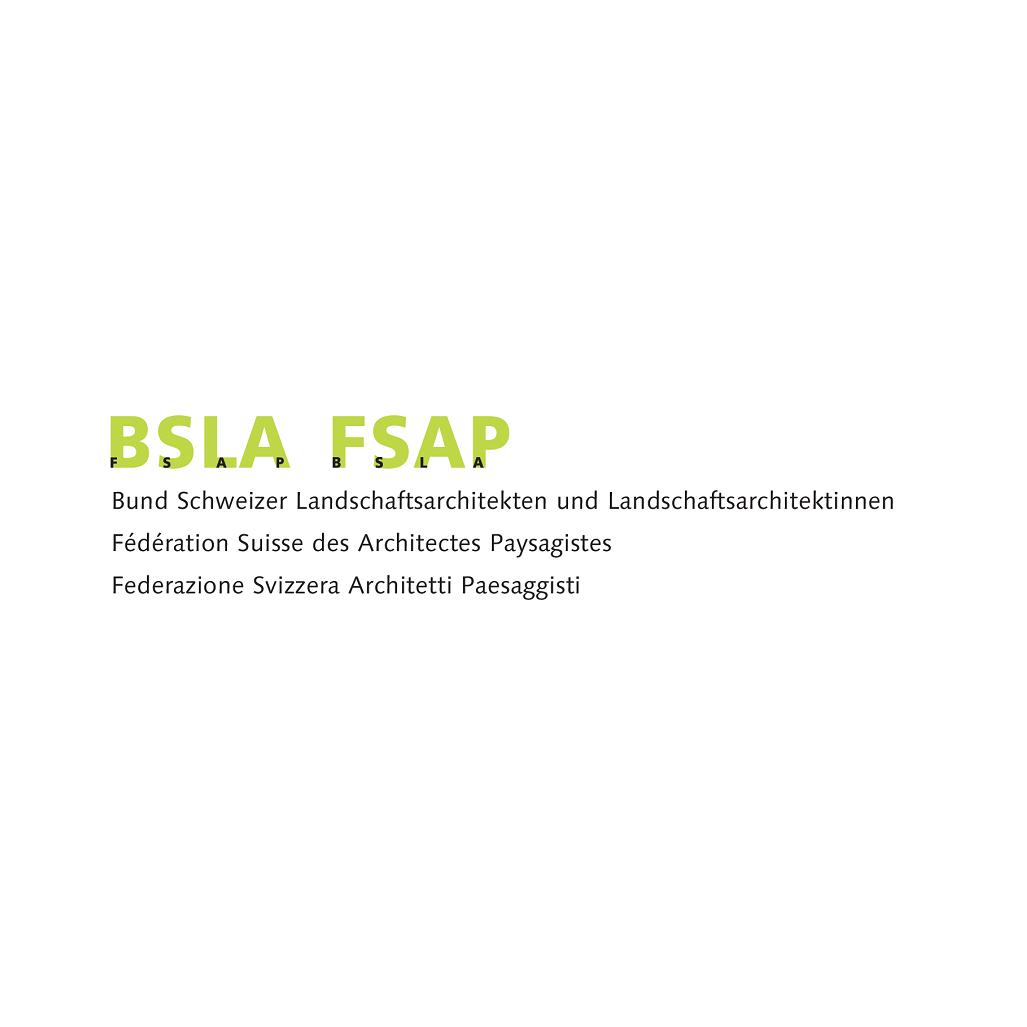 Logo Bund Schweizer Landschaftsarchitekten und Landschaftsarchitektinnen