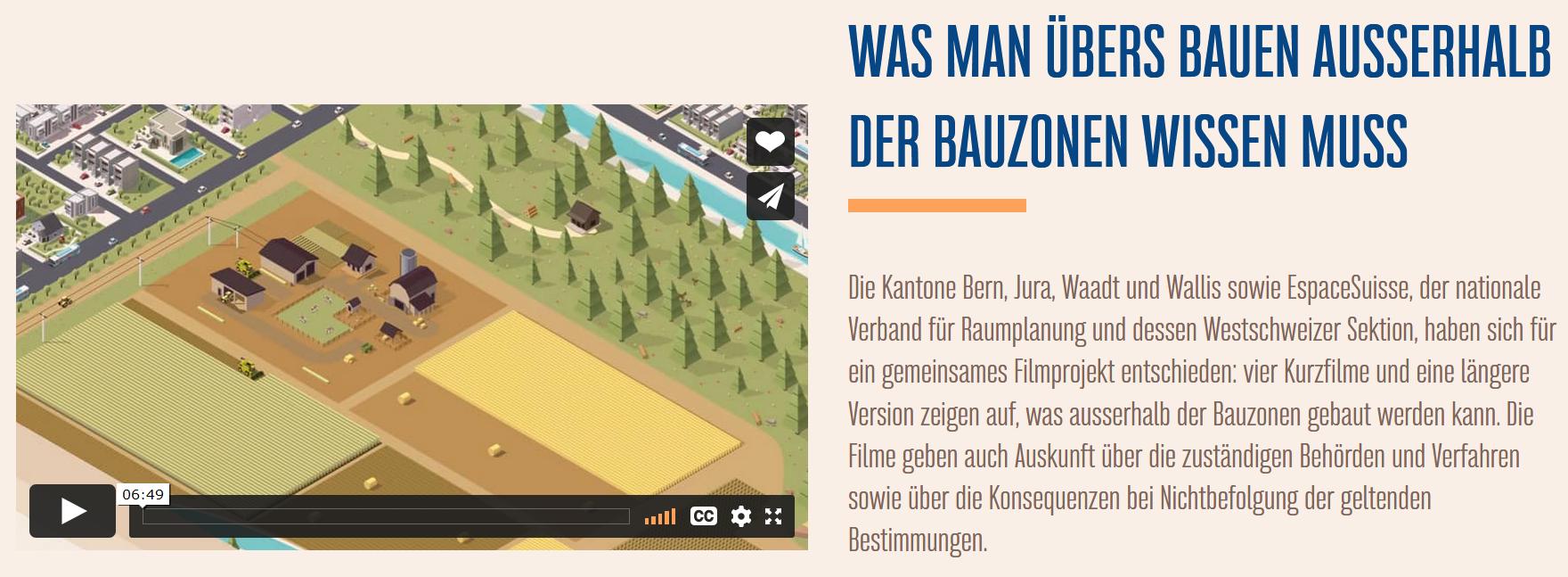 Screenshot Webseite BAB
