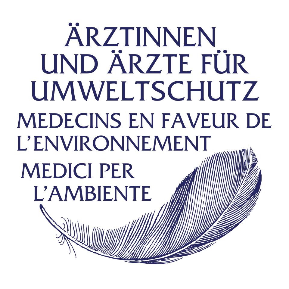 Logo Ärztinnen und Ärzte für Umweltschutz